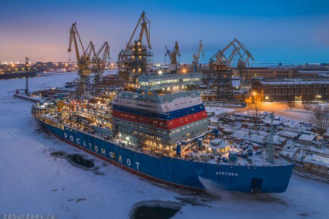 Video: Najväčší jadrový ľadoborec na svete vyráža na skúšky v Baltskom mori  |